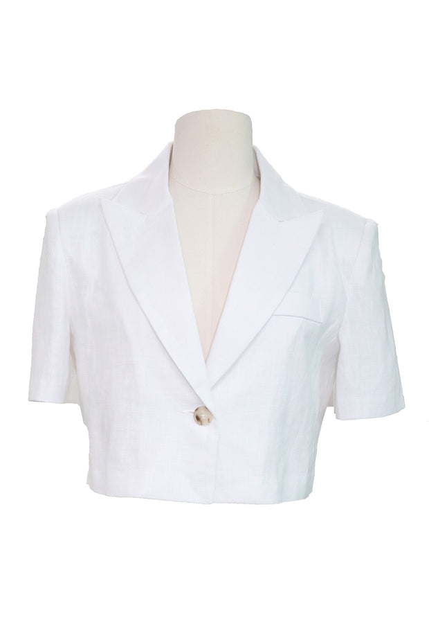 storets.com Jaelyn Cropped Linen Jacket