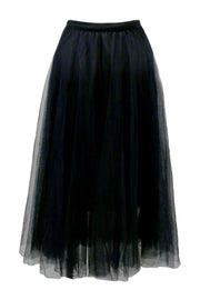 Dalary Pleated Tulle Skirt
