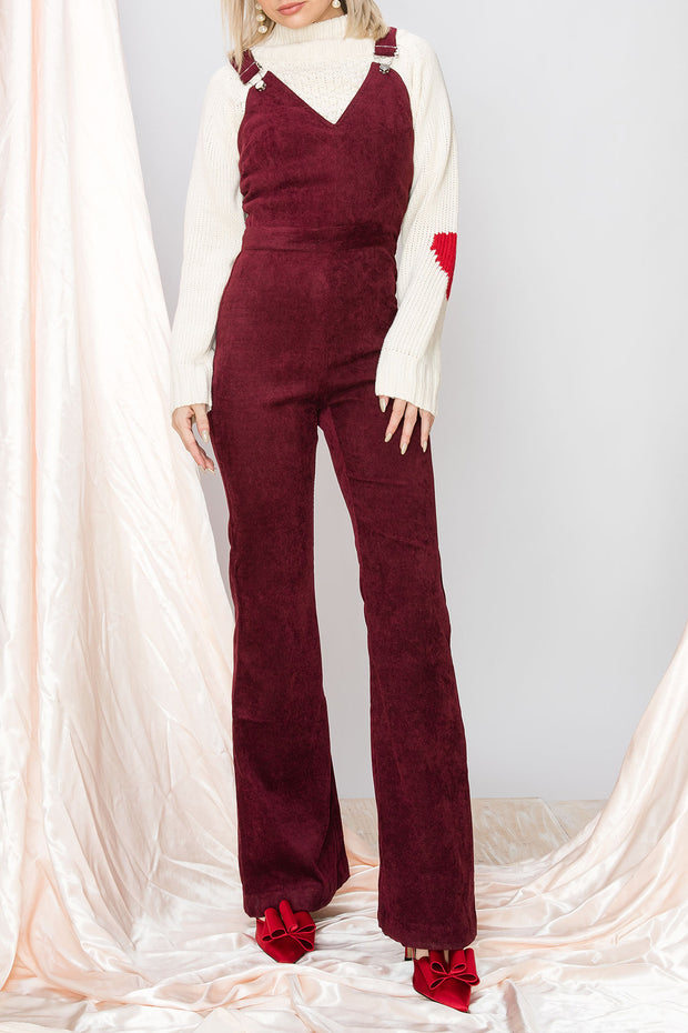 Andi Corduroy Flare Overall