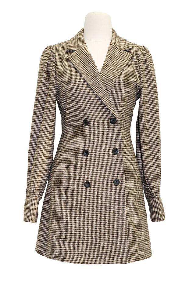Kinsley Checked Blazer Dress