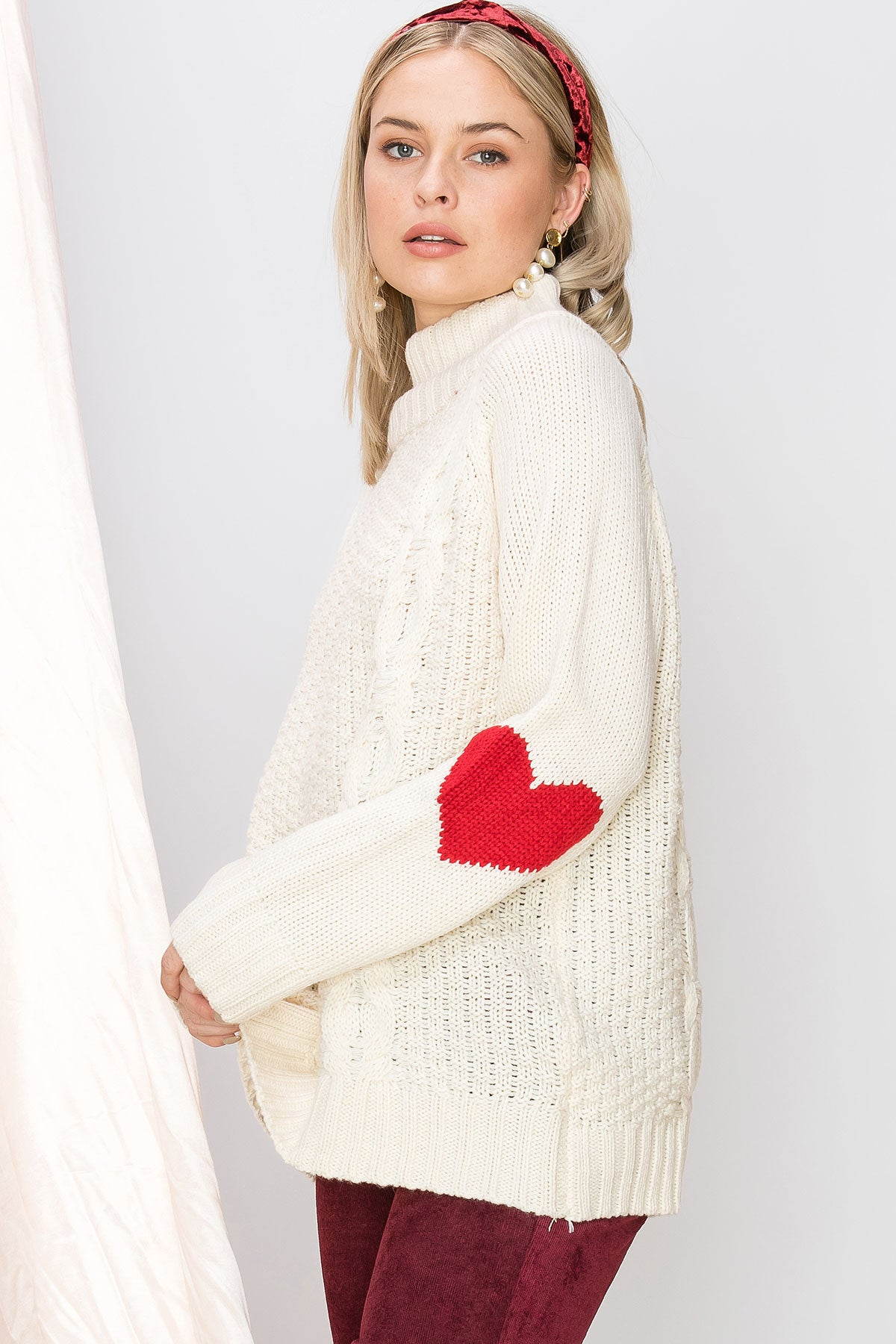 Lulu Love Cable Sweater (Pre-Order)