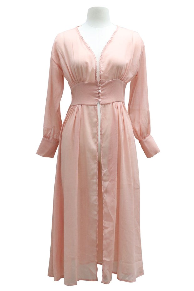 storets.com Luciana Sheer Robe Dress