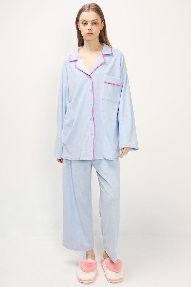 storets.com Riley Textured Pajama Set
