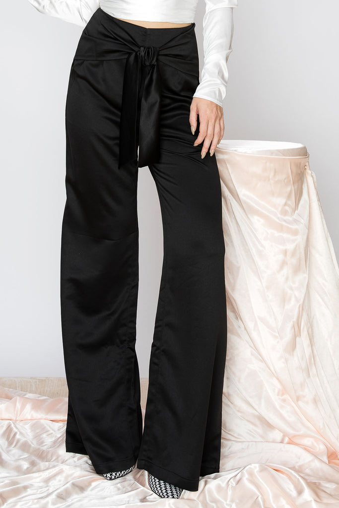 Amma Wrap Wide Leg Pants