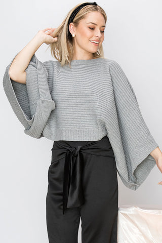 Ava Batwing Sleeve Sweater (Pre-Order)