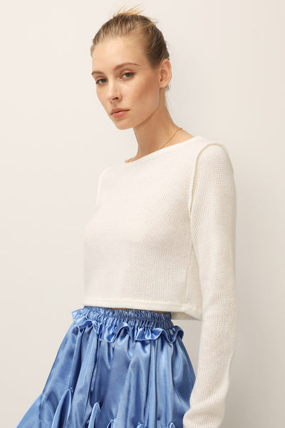 storets.com Kayla Knitted Crop Top