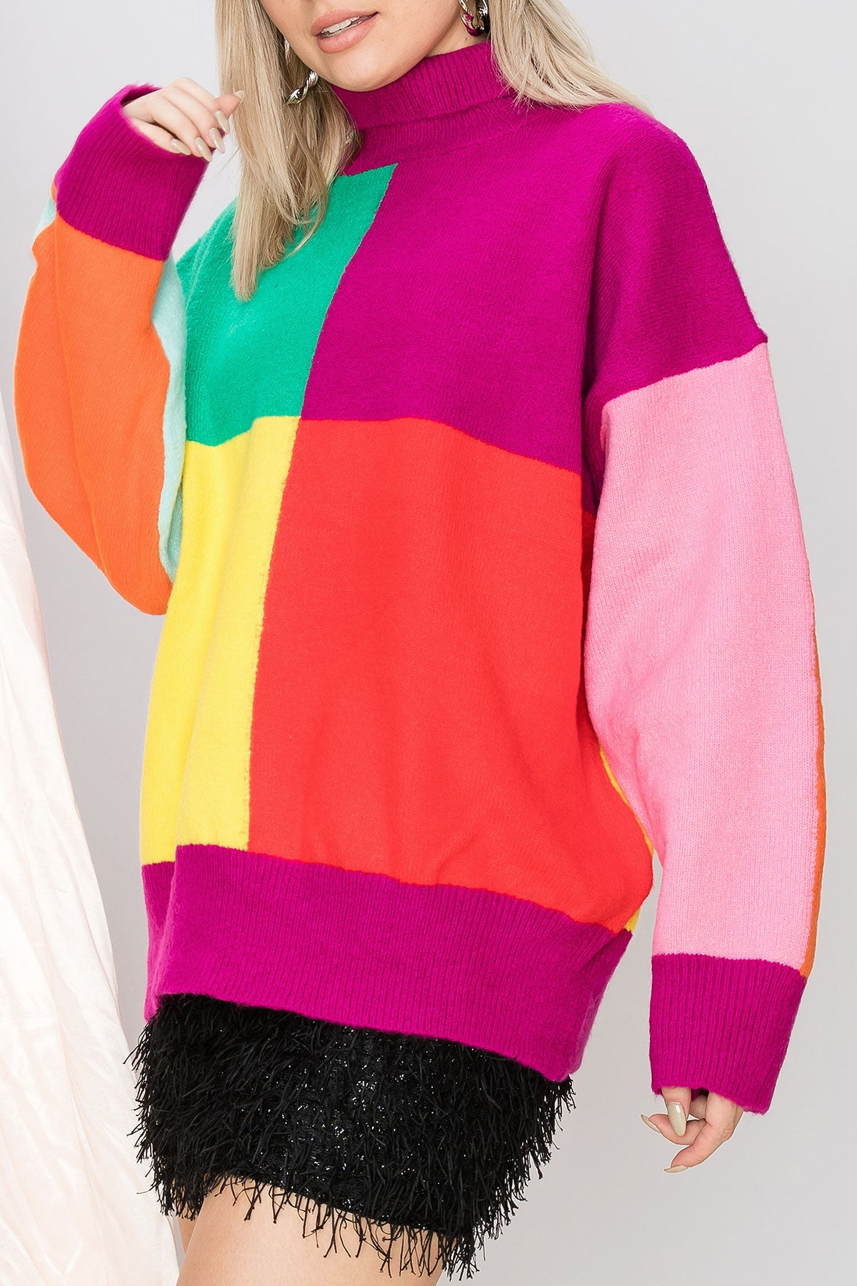 Judy Colorblock Pullover