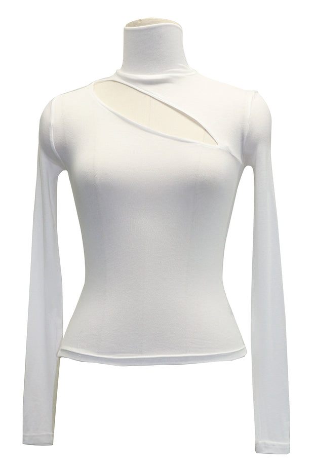 storets.com Heidi Cutout Turtleneck Top