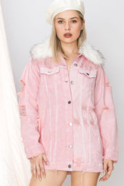 Tella Oversized Denim Jacket