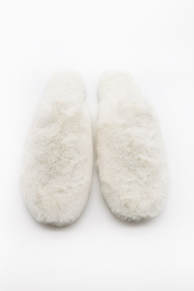 storets.com Furry Closed Toe Mules