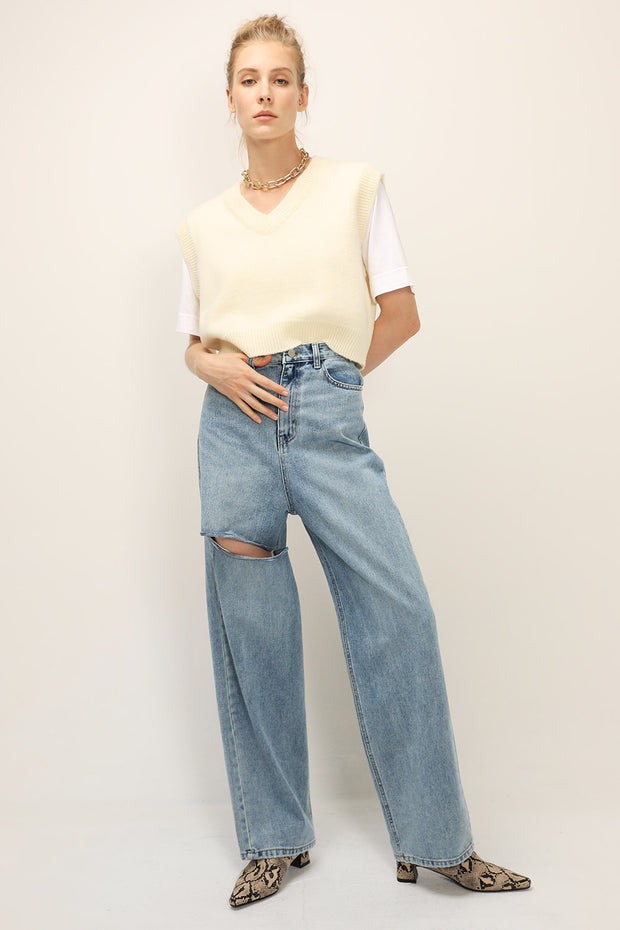 storets.com Piper Ripped Slash Jeans