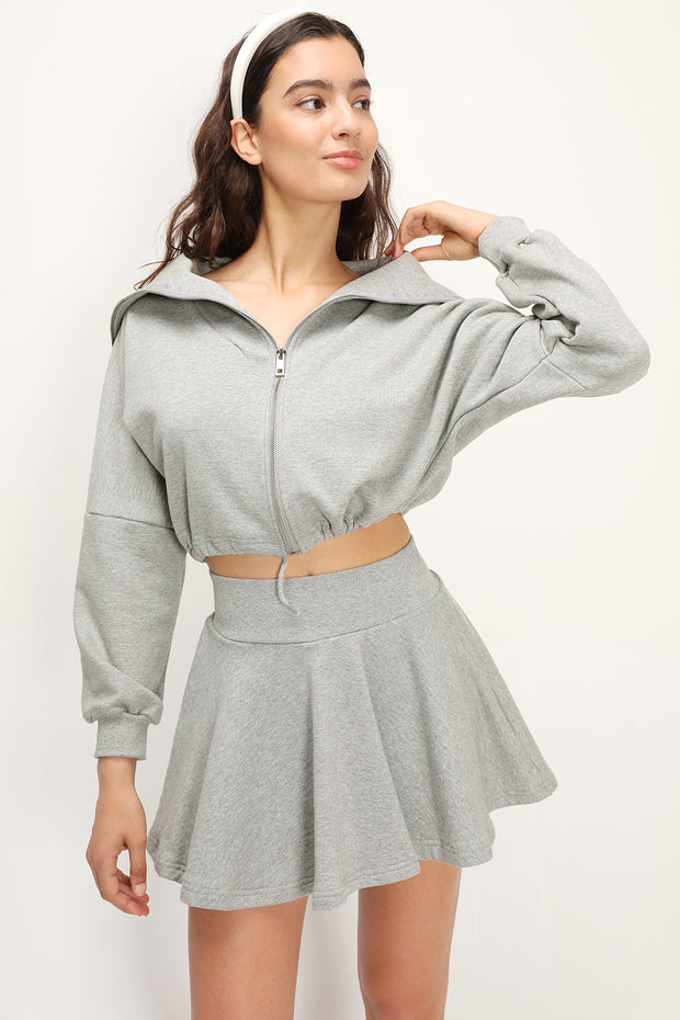 storets.com Jayde Sweat Top And Skirt Set