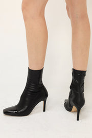 storets.com Pointed Toe Sock Boots