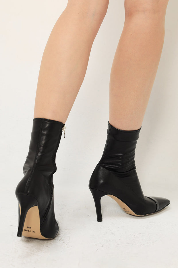 Pointed Toe Sock Boots