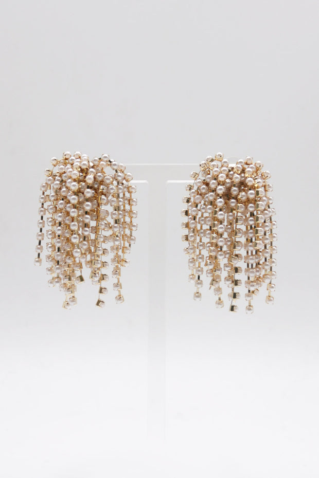 storets.com Pearl Stamens Earrings