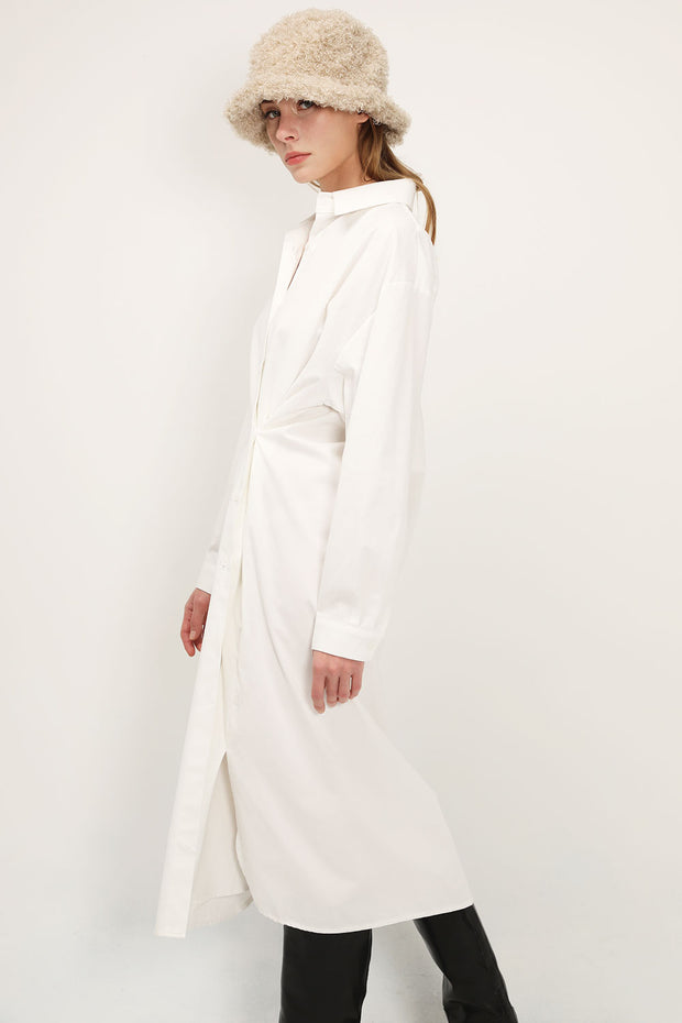 storets.com Ariana Maxi Shirt Dress
