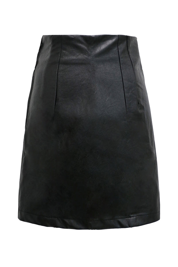 Dakota Pleather Mini Skirt
