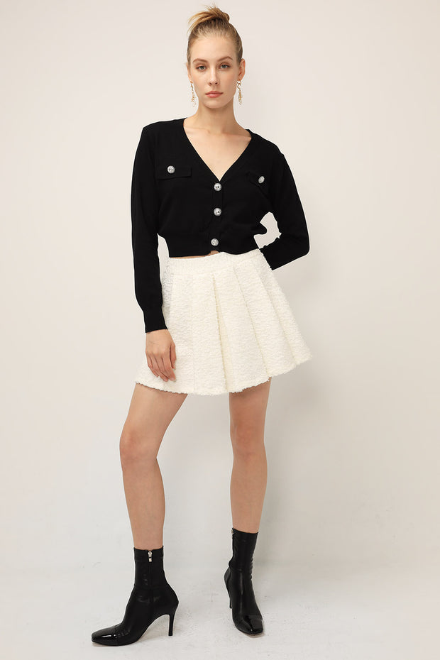 Lucy Embellished Knit Cardigan