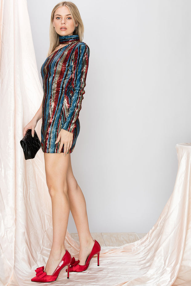 Kylie Sequined Dress