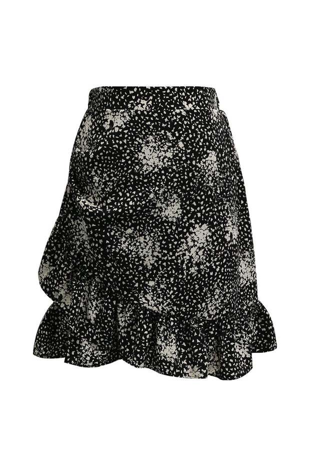 storets.com Esther Ruffle Wrap Skirt