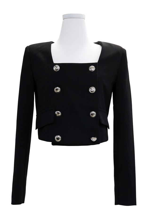 Nora Double Breast Cropped Jacket