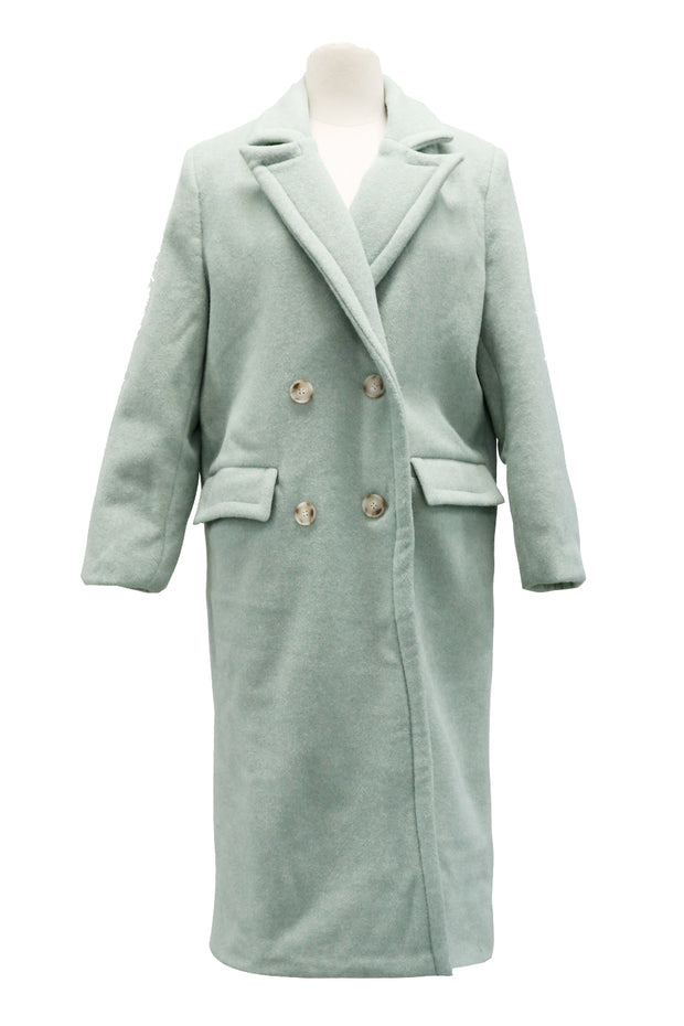 Macy Double Breasted Long Coat