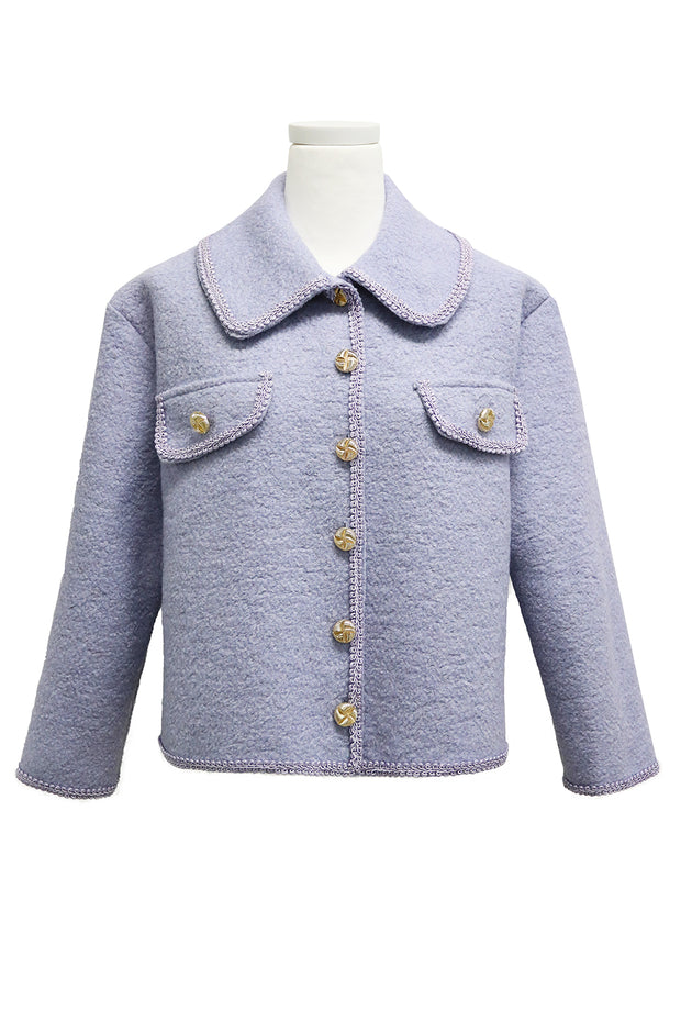 Tinley Braid Trim Jacket