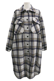 storets.com Lennon Oversized Plaid Shacket