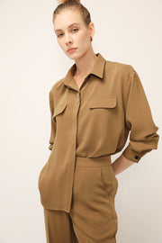 Camilla Flap Pocket Shirt