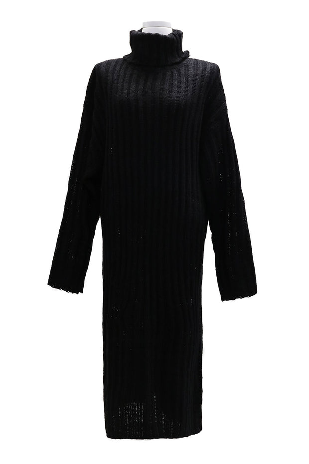 storets.com Evelyn Turtleneck Knitted Long Dress