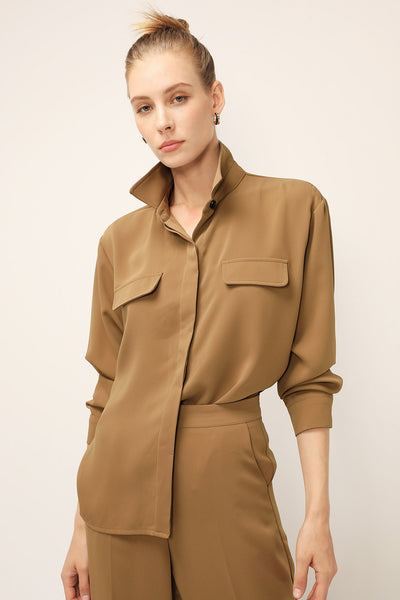 storets.com Camilla Flap Pocket Shirt