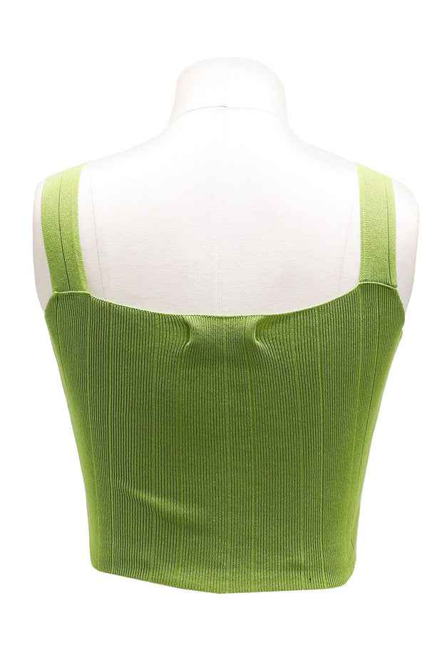 Cecilia Square Neck Tank Top