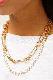 Multi Chain Layered Necklace