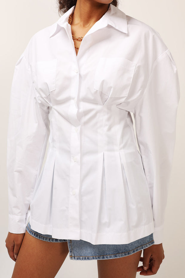 storets.com Allison Structured Pintuck Shirt