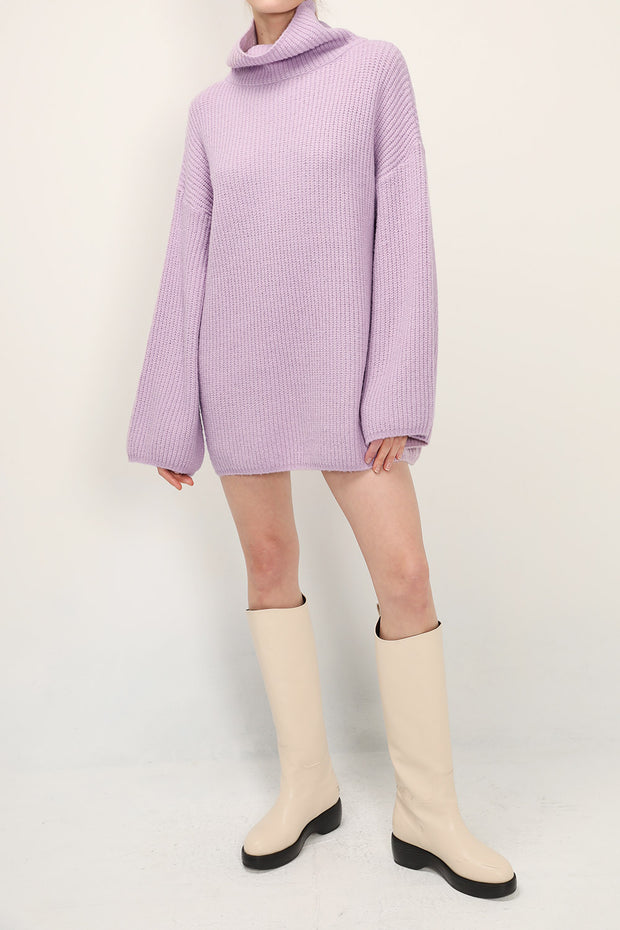 storets.com Kinsley Turtle Neck Knit Dress