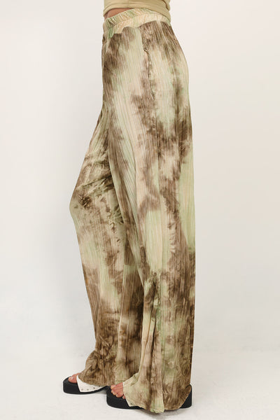 storets.com Maci Printed Pleats Pants