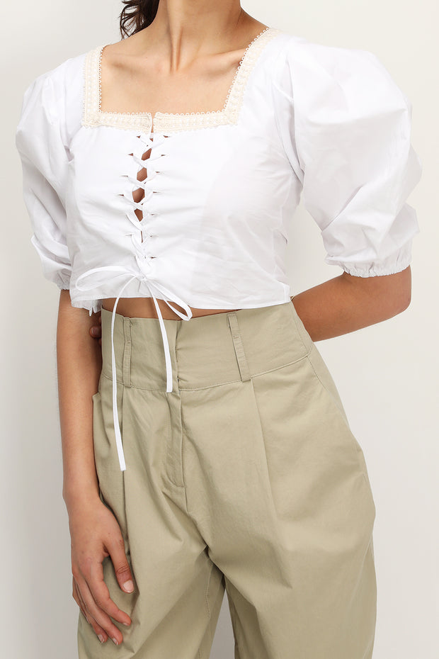 storets.com August Puffed Eyelet Blouse