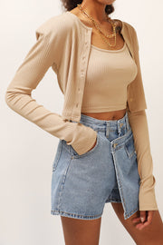 storets.com Victoria Ribbed Cardigan 2-Piece Set