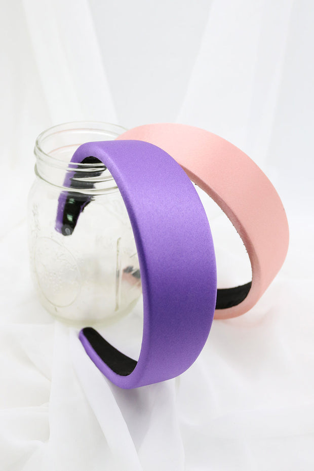 Satin Wide Headband