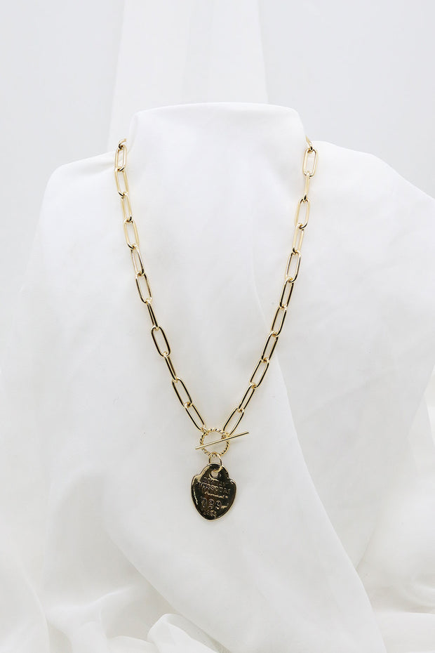 storets.com Chian Necklace w/Number Pendant