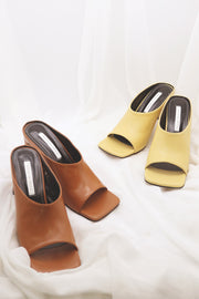 Square Toe Mules