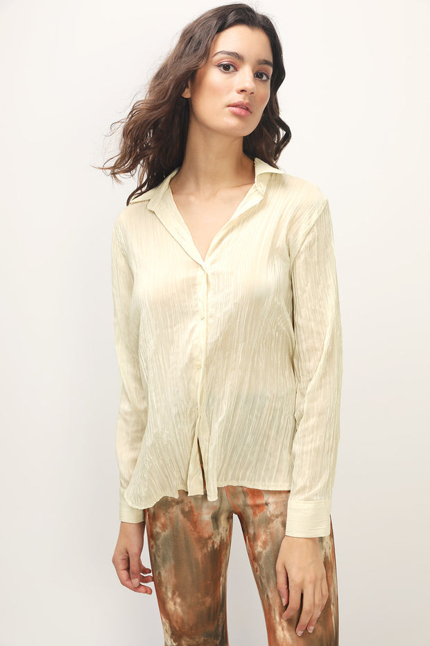 storets.com Allie Crinkled Cuffs Shirt