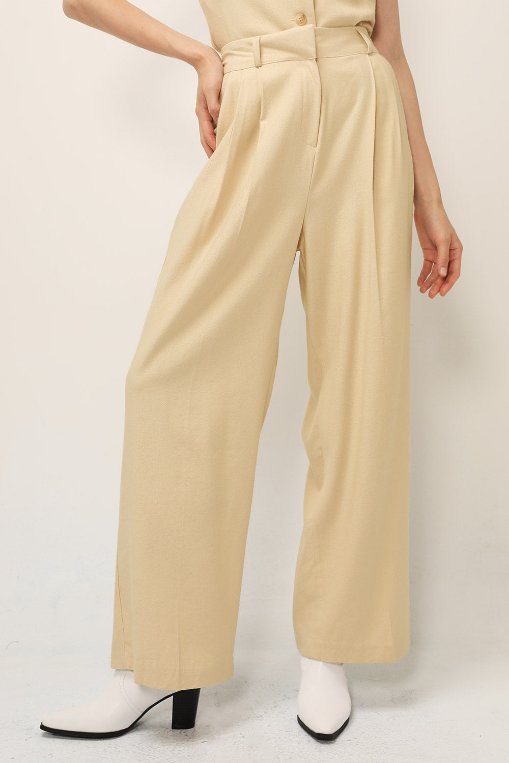 Finley Pintuck Wide Leg Pants