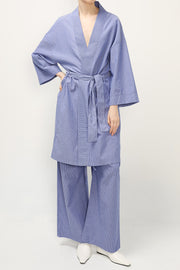 storets.com Stella Robe And Wide Pants Set