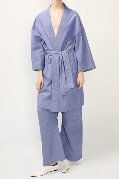 Stella Robe And Wide Pants Set