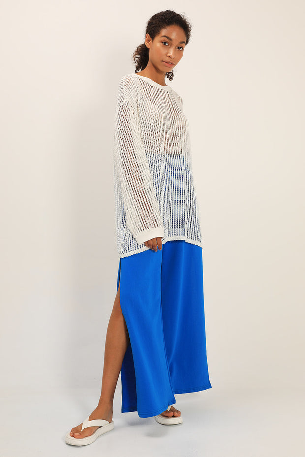 storets.com Averi Netted Knit Top