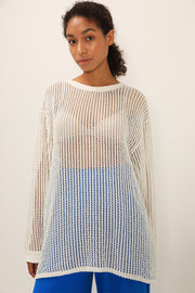Averi Netted Knit Top