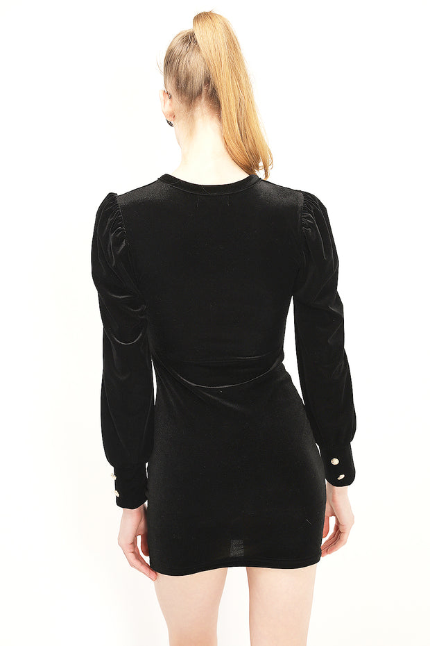 storets.com Viveca Cut Out Velvet Dress
