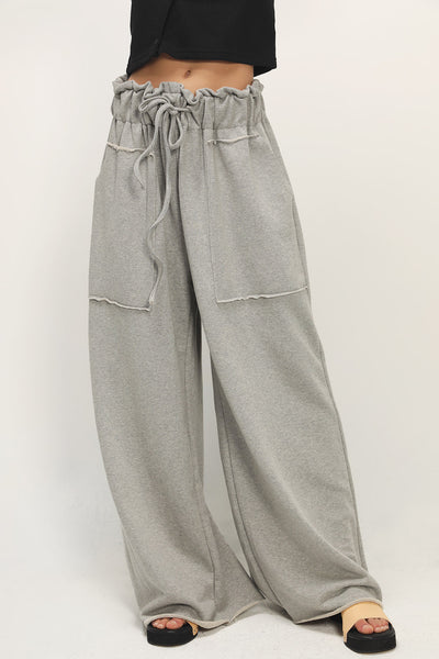 storets.com Esmeralda Wide Leg Sweat Pants