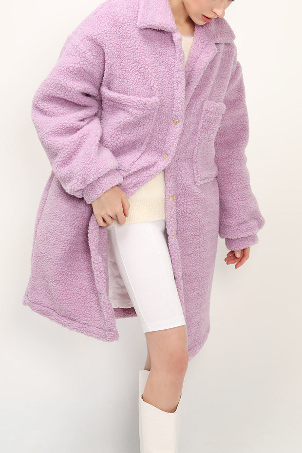 storets.com Khloe Quilted Teddy Coat